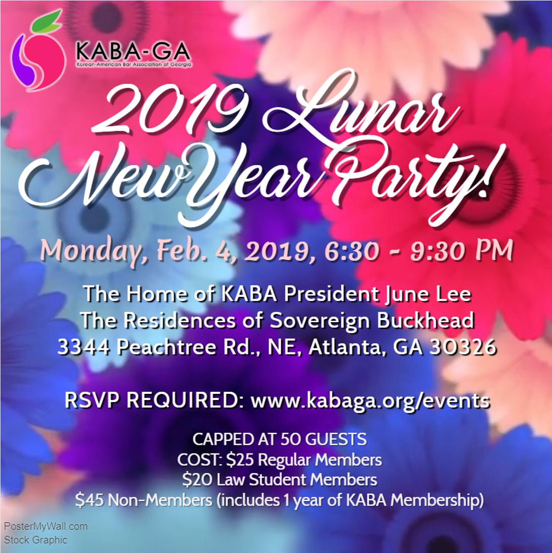 Lunar New Year 2019 Korean